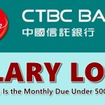 CTBC Bank Salary Loan
