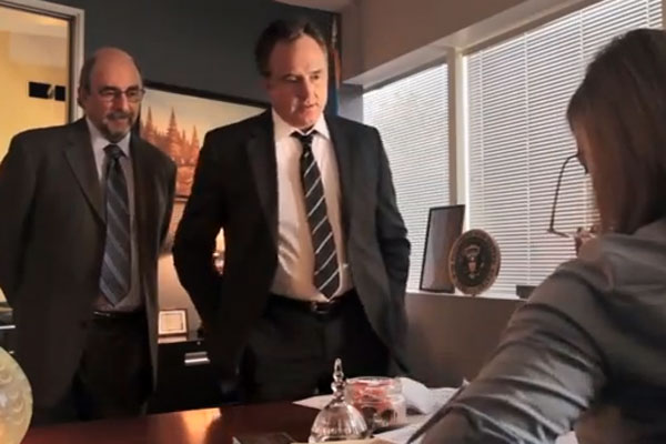 WATCH: The West Wing Cast Reunites for Campaign Ad   TIME.com