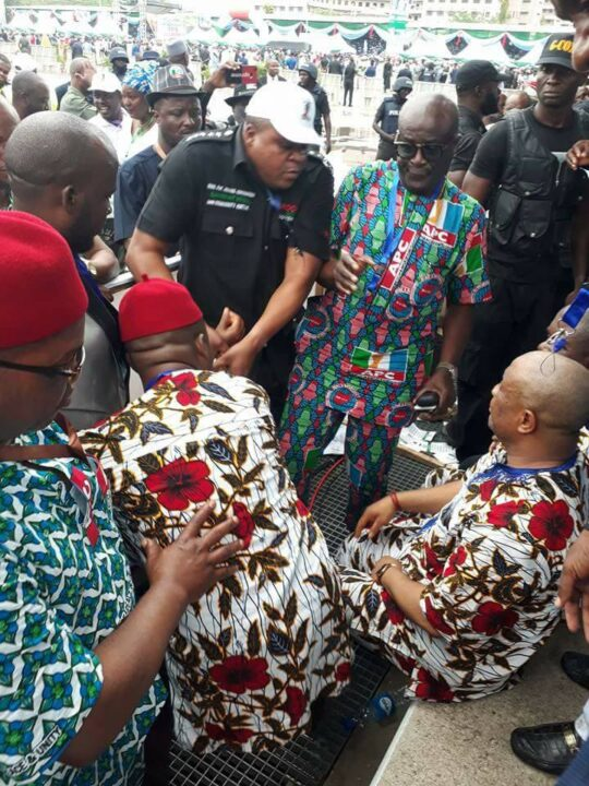 Okorocha, Imo Deputy Gov Clash At APC National Convention In Abuja