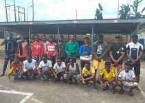 EFCC arrests 22 yahoo boys