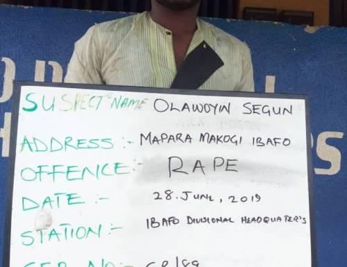 Raped in Ogun