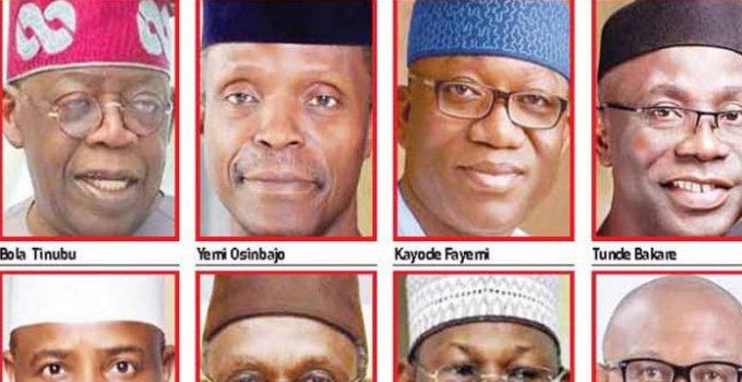 Tinubu, Fayemi, Others