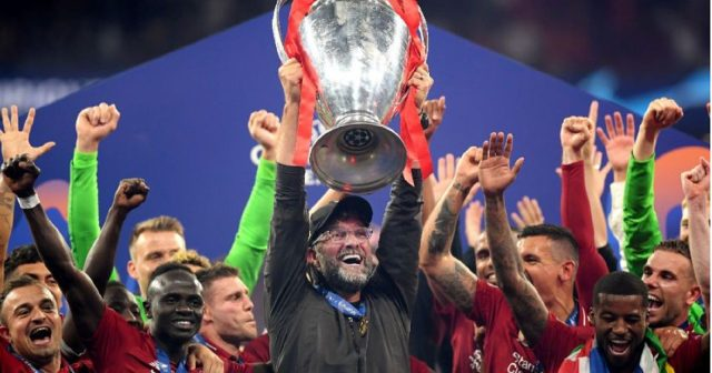 Liverpool named Premier League champions