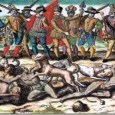 "from the Mexica Movement website Europeans first assaulted our Cemanahuac lands (""The Western Hemisphere"") with their terrorist attacks of 1492 […]"