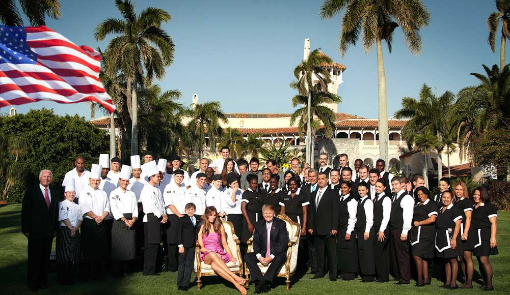 Mar a Lago Staff Racial Diversity Club Trump Family races