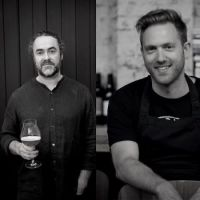 Luke Burgess and Adam James take over the kitchen at Oma Food & Wine