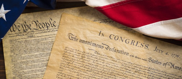 The Declaration of Independence and Constitution of the United S