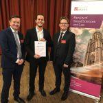 Cardiff's Quantum Advisory presents University of Bristol student with prestigious prize