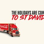 Christmas comes early to Cardiff: Coca-Cola Truck Stopping off at St. David's on Friday 15th and Saturday 16th November