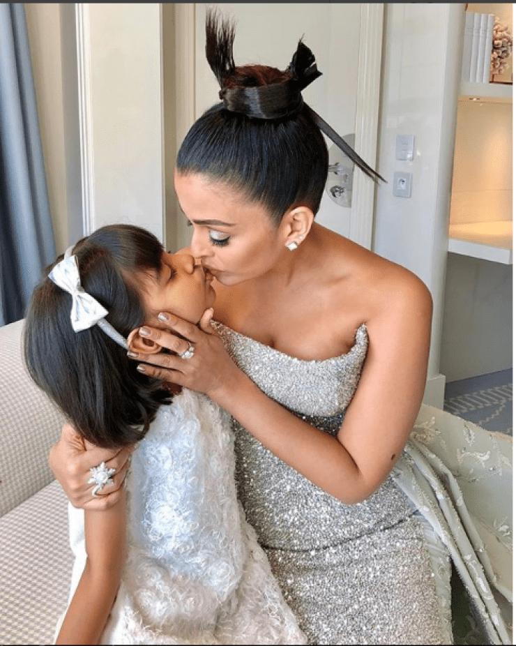 cannes film festival 2018 aishwarya roy dancing with aaradhya bachchan