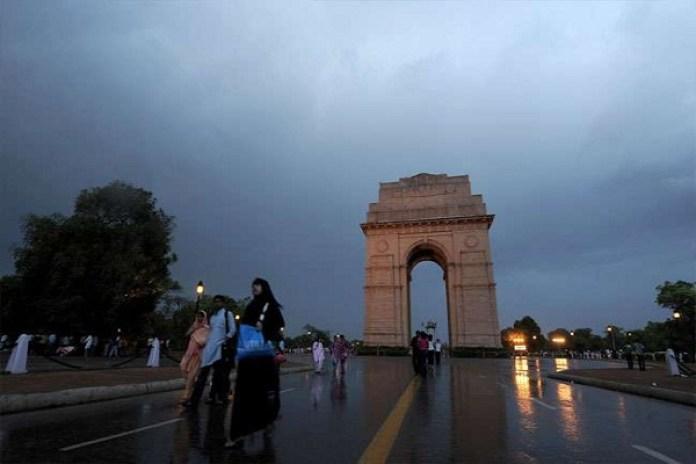 weather forecast northern india plane area hills dust storm rain