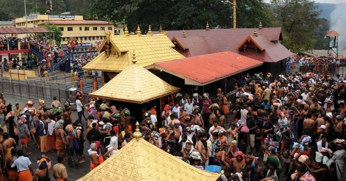 rbi director joins sabarimala temple issue in kerala floods