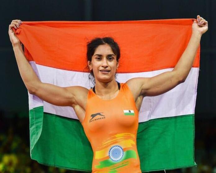 vinesh phogat win gold medal in asian games 2018