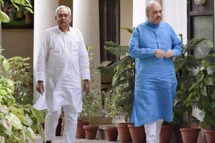 दिल्ली में नीतीश, सीटों के बंटवारे के लिए शाह से मुलाकात