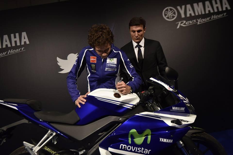 Il Dottore mette allasta una Yamaha YZFR125 per la Fondazione Pupi immagini  NewsGate