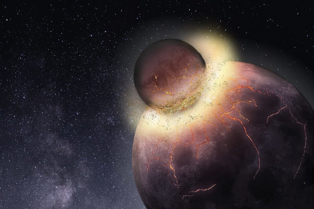 O Que Aconteceria se a Lua se Chocasse Com a Terra?