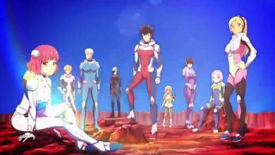 imagem ilustrativa dos personagens de kanata no astra