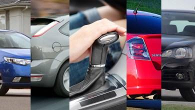 Top 15 carros automáticos