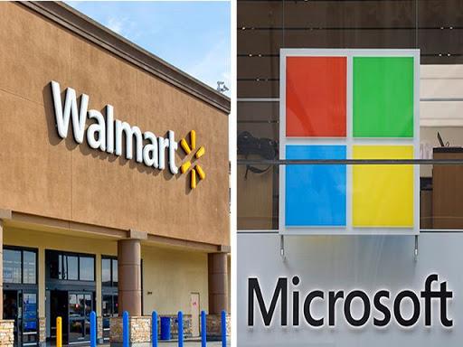 Walmart e Microsoft