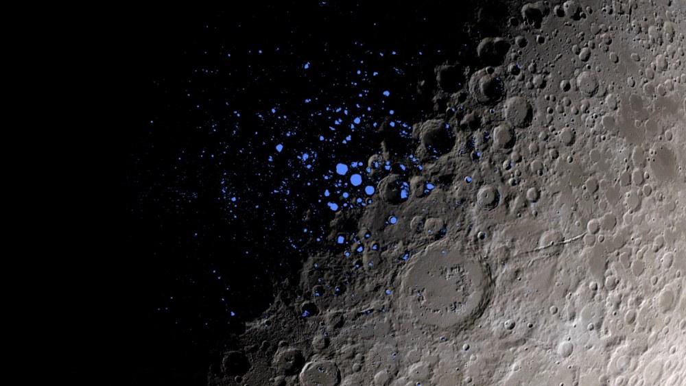 Agua na Lua