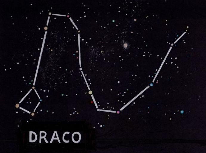 Constelação de Draco ( Dragão)