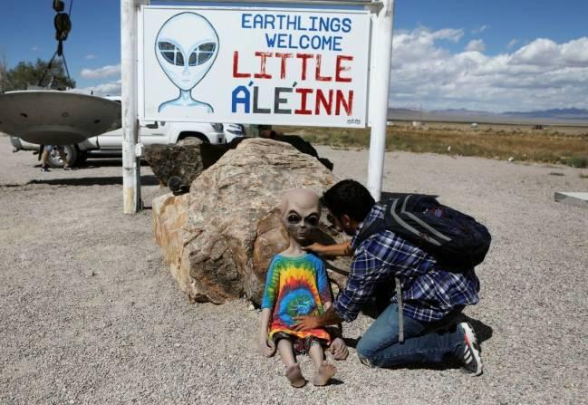 Mistérios do Planeta Terra, Área 51