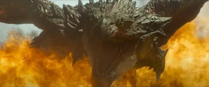 Monstro no trailer de Monster Hunter