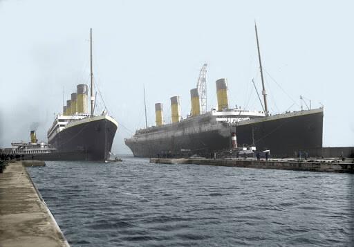 Titanic foi trocado, quem criou está teoria?