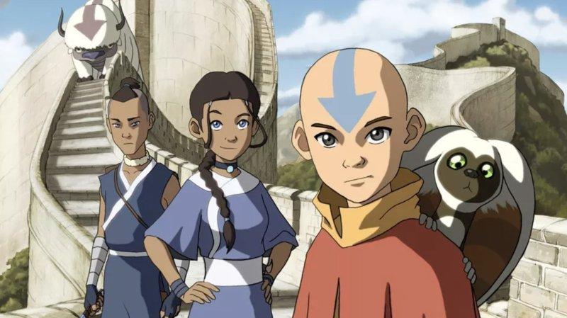 As Animações mais Vistas de 2020 - Avatar a Lenda de Aang