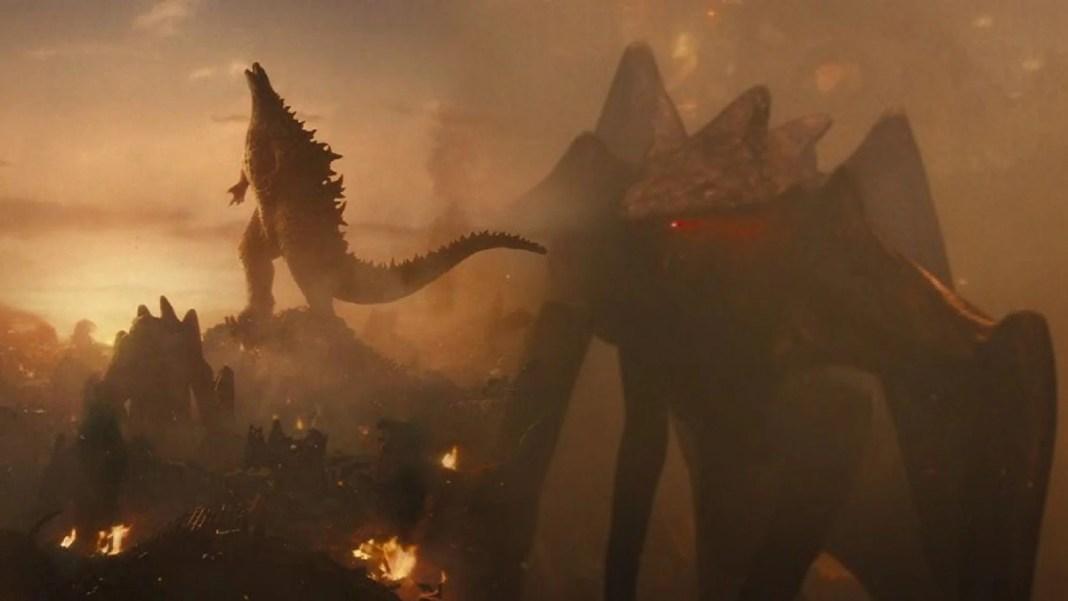 Reprodução - Godzilla e MUTO.