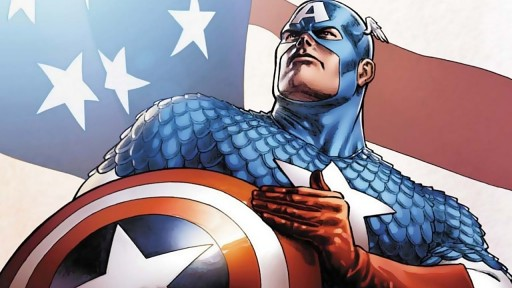 Os Heróis Mais Populares das Hqs - Capitão América