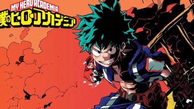 Ilustração - Boku no Hero Academia.