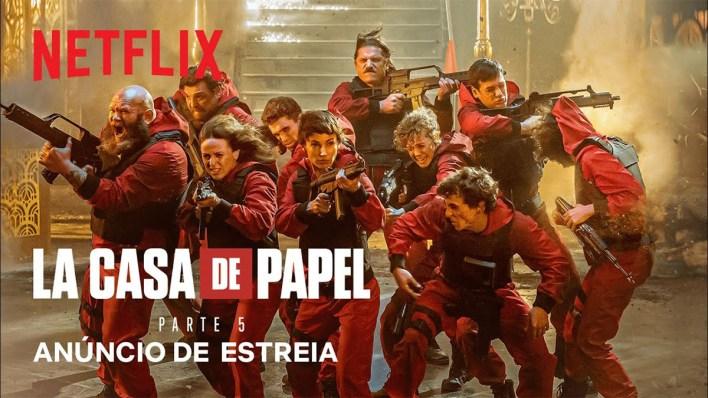 Quinta Parte de La Casa de Papel | Netflix.