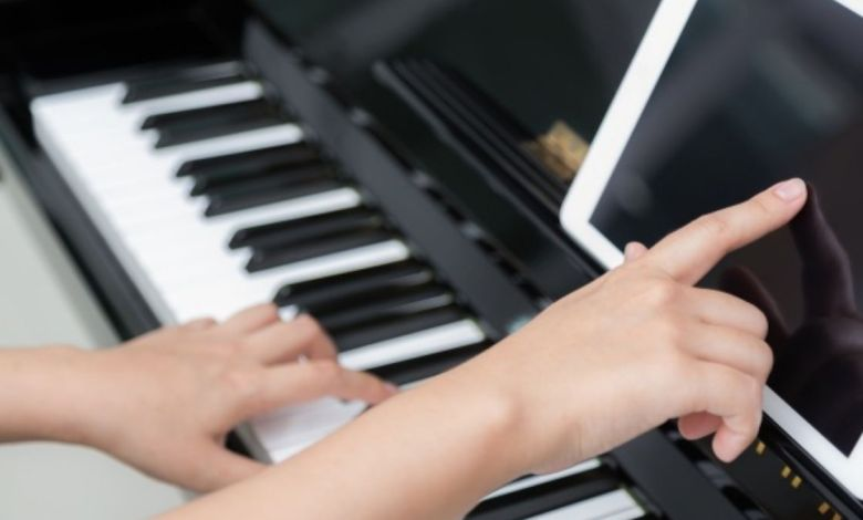 Aplicativo para aprender tocar teclado