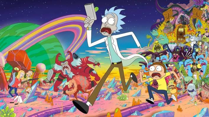 Rick and Morty uma das séries indispensáveis da HBO Max