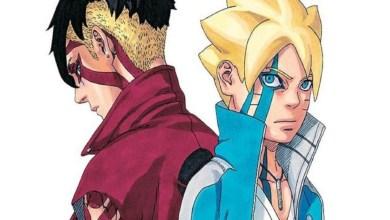 Foto/Reprodução: Boruto e Kawaki em Boruto: Naruto Next Generation.