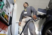 Petrol prices fell by 1.7% last month