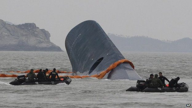 The ferry sank within two hours - it is still not clear why it capsized