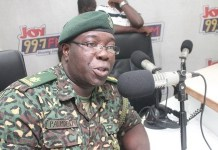 Director of Public Affairs at the Ghana Immigration Service, Francis Palmdeti