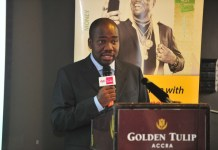Eric Nsarkoh, MTN Ghana?s Executive Director for Sales and Distribution