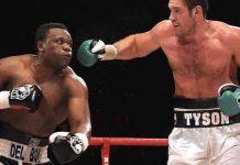 Tyson Fury and Dereck Chisora