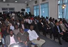 show some CEO?s of the Energy Ministry and some Media Personnel in attendance