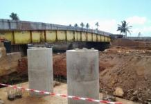 Elmina Benya Bridge ongoing