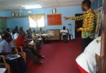 PWDs at workshop on responsibilities of Unit Committee Members