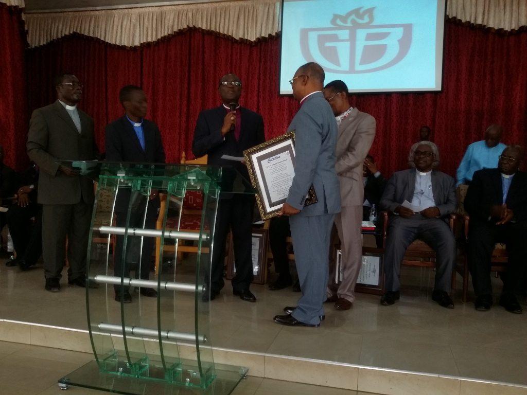Ghana Baptist Convention send off