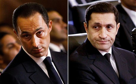 Hosni Mubarak sons