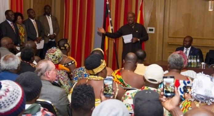 Mahama's Germany visit