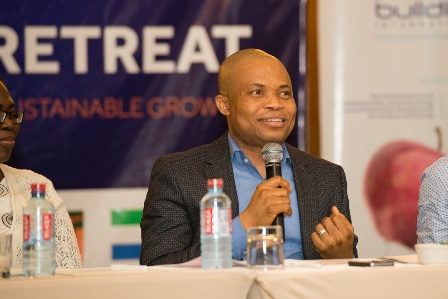 Mr. Obinna Nwosu Deputy Group Managing Director Access Bank Plc Addressing participants at the retreat
