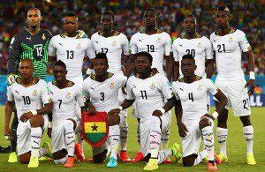 Ghana will play Algeria tonight