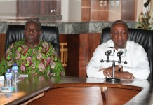 Mahama clash with Amissah-Arthur